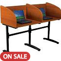 Click here for more Lumina Study Carrel by Balt by Worthington