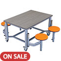 Click here for more Mobile Stool Group Collaboration Tables by AmTab by Worthington