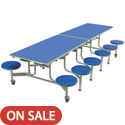Click here for more Mobile Stool Cafeteria Table by Amtab by Worthington