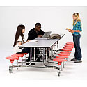 Click here for more Mobile Stool Cafeteria Tables - Grades K-4 by NPS by Worthington