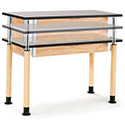Click here for more Adjustable Height Science Table by National Public Seating by Worthington