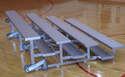 Click here for more Tip N' Roll Bleachers by National Recreation Systems by Worthington