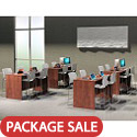 Click here for more OS Laminate Standing Height Desks by OfficeSource by Worthington