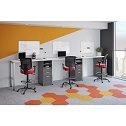 Click here for more Variant Standing Height Desk Set by OfficeSource by Worthington