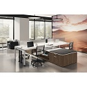 Click here for more Variant Desk Quad Suite by OfficeSource by Worthington