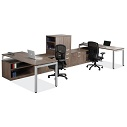 Click here for more Variant L-Shaped Desk Suite with Bookcases  by OfficeSource by Worthington