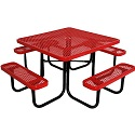 Click here for more Budget Saver Square Outdoor Picnic Tables by Caprock Furniture by Worthington