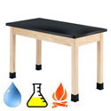Click here for more Epoxy Resin Maple Science Tables by Diversified by Worthington