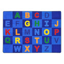 Click here for more Patchwork Letters Carpet by Joy Carpets by Worthington