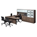 Click here for more Classic Series PL133 U-Shaped Desk w/ Hutch by NDI Office Furniture by Worthington
