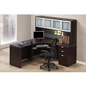 Click here for more Executive PL25 L-Shaped Desk by NDI Office Furniture by Worthington