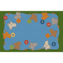 Click here for more Playful Numbers Carpet by Learning Carpets by Worthington