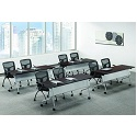 Click here for more PBF Series Flip Top Training Tables by NDI Office Furniture by Worthington