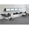 Click here for more Elements PLT20 Pneumatic Sit-Stand Desk Suite by NDI Office Furniture by Worthington