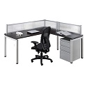 Click here for more Elements PLT7 L-Shaped Desk Suite by NDI Office Furniture by Worthington