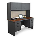 Click here for more Pronto Credenza w/ Flipper Door Cabinet by Marvel by Worthington
