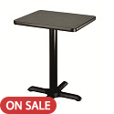 Click here for more Square X-Base Cafe Tables by Amtab by Worthington