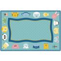 Click here for more Quiet Time Animal KIDSoft Rugs by Carpets for Kids by Worthington