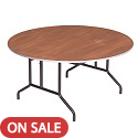 Click here for more Round Stained Plywood Top Folding Tables by Amtab by Worthington