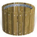Click here for more Pressure Treated Round Planters by UltraPlay by Worthington