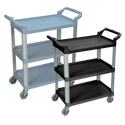 Click here for more 3-Shelf Serving Cart by Luxor by Worthington