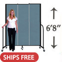 "Click here for more 6' 8"" H Freestanding Portable Partition by Screenflex by Worthington"