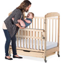 Click here for more Next Gen SafeReach Side Gate Compact Serenity Cribs by Foundations by Worthington