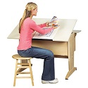 Click here for more Art & Drafting Desktop/Laptop Drawing Table by Diversified Woodcrafts by Worthington