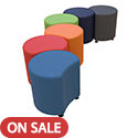 Click here for more Sonik Petal Stools by Marco Group by Worthington