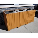 Click here for more Resinwood Square Recycling Centers by Jayhawk Plastics by Worthington