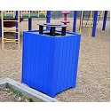 Click here for more Resinwood Square Receptacles by Jayhawk Plastics by Worthington