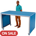 Click here for more Mobile Conversation Standing Height Waterfall Tables by AmTab by Worthington