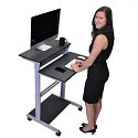 Click here for more Stand-Up Workstation by Luxor by Worthington