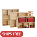 Click here for more Birch Streamline Storage Cabinets by ECR4Kids by Worthington