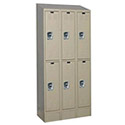 Click here for more Ready Built Lockers w/ Sloped Tops, Bases & Locks by Worthington