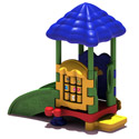 Click here for more Super Sprout Discovery Center w/ Roof by UltraPlay by Worthington