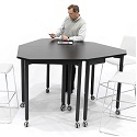 Click here for more Tall Kite Mobile Flip-Top Nest Tables by Muzo by Worthington