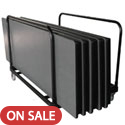 Click here for more Rectangular Edge Stacking Table Caddy by Amtab by Worthington
