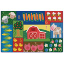Click here for more Toddler Farm Counting Rug by Carpets for Kids by Worthington