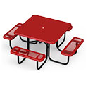 Click here for more Square Solid Top Outdoor Picnic Tables by UltraPlay by Worthington