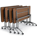 UXL Nest and Fold Training Table by Smith System