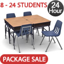 Click here for more Virco Classroom Desk & Chair Packages: 24 Hour Ship by Worthington