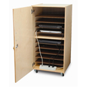 Click here for more Laptop Security Cabinet by Whitney Brothers by Worthington