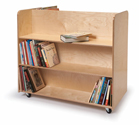 Click here for more Two-Sided Book Truck by Whitney Brothers by Worthington