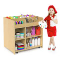 Click here for more Mobile Deluxe Art Supply Cart by Whitney Brothers by Worthington