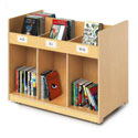 Click here for more Mobile Library Book Cabinet by Whitney Brothers by Worthington