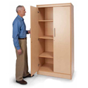 Click here for more Tall and Wide Storage Cabinet by Whitney Brothers by Worthington
