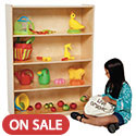 Click here for more Multi-Purpose Bookshelf by Wood Designs by Worthington