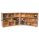Click here for more Folding Storage Units by Wood Designs by Worthington
