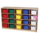 Click here for more Cubby Storage Cabinets by Wood Designs by Worthington
